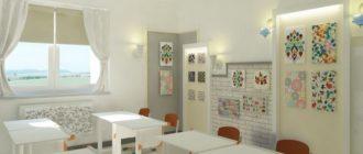 Кабинет в частной школе
