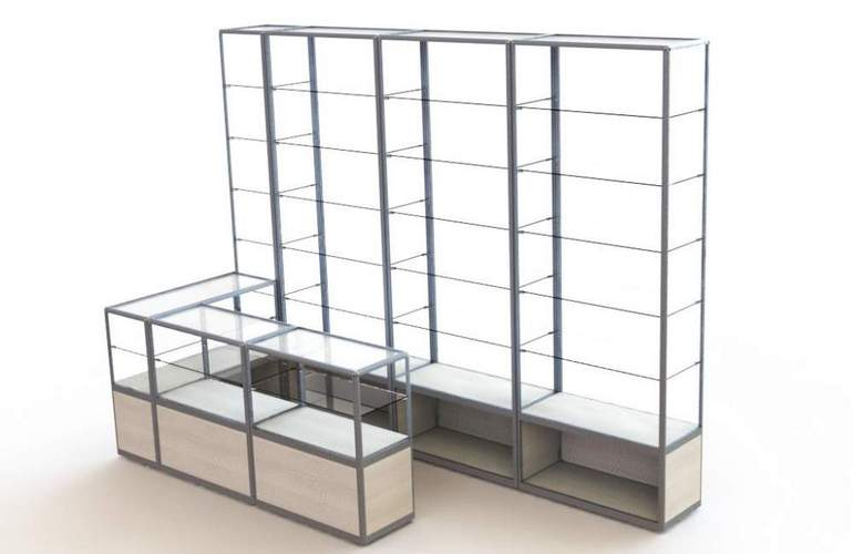 Прилавок и витрина — самое популярное торговое оборудование