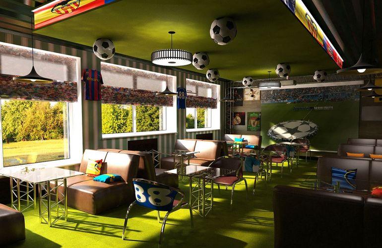 Для спорт-бара лучше арендовать помещение бывшего кафе