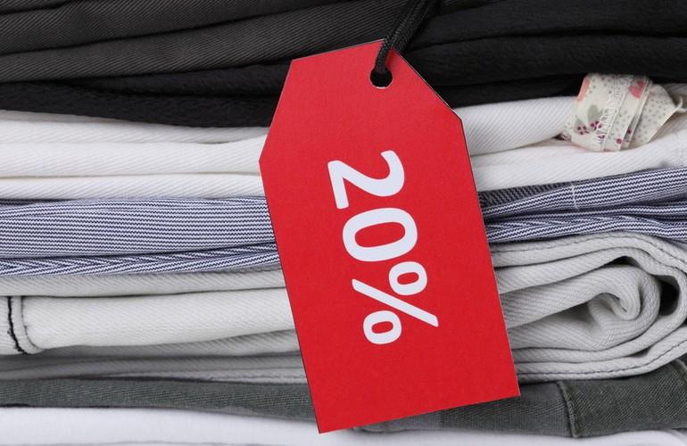 Наценку на одежду можно установить несколькими способами