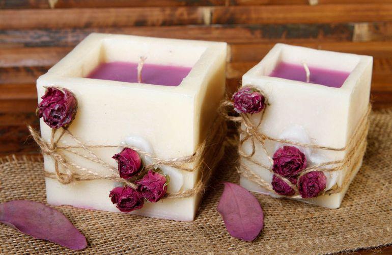 Свечи ручной работы заинтересуют даже равнодушных к свечам людей
